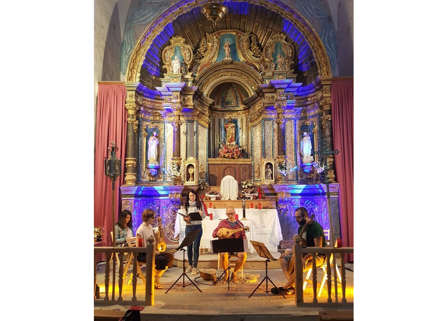 Concert in FeMAP - Sant Bartomeu church - Tavascan (Lladorre)